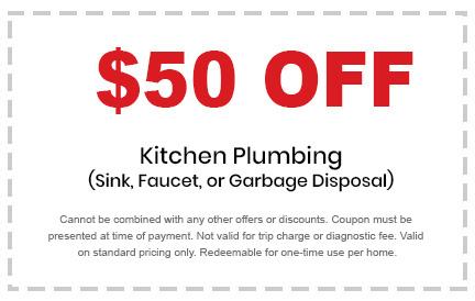kitchen plumbing discount